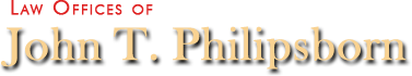 Law Offices of John T. Philipsborn logo